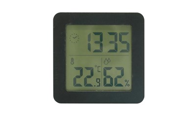 Digitaluhr, Thermo-Hygrometer HYGRO
